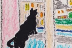 """Claire Mulkai, Vanne """"Francis, le chat"""""""